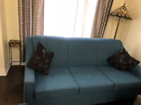 Sofa - 3 seater and a single couch - mix and match color