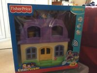 Fisher Price Little People play house