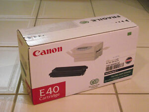 Canon E40 cartridge -  BRAND NEW. NOT Remanufactured