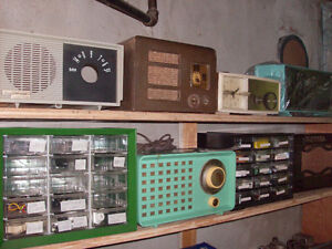 Bunch of tube radios for sale or trade