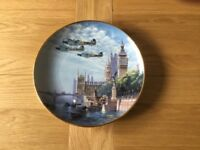 Franklin Mint Defender of the Realm Plate