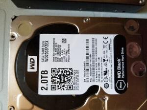 Intel Xeon E3 1230,  2x Western Digital Caviar black