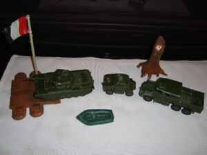 VINTAGE WORLD WAR 2 TOYS FROM ENGLAND