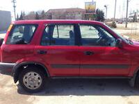 1997 Honda CR-V Minivan, Van