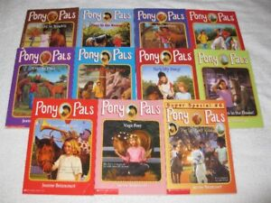 PONY PALS - CHAPTERBOOKS - GREAT SELECTION - CHECK IT OUT!