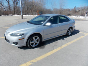2008 Mazda 6 Sport, Hatch Back, 108000 Km, Excellent Condition.