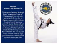Special deal! Women's ONLY Taekwon-do Classes!