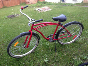 Cherry red cruiser for sale in good condition