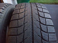 2 x 225/60R16 winter Michelin X-ice