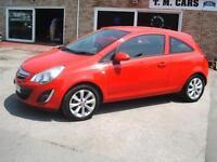 2012 62 Vauxhall/Opel Corsa 1.2 Active 3d **46k / New MOT**