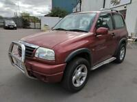 2002 SUZUKI GRAND VITARA 1.6 SPORTS / MANUAL / PETROL / 4X4 / RED