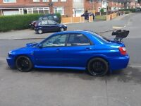 Subaru Impreza WRX STI replica
