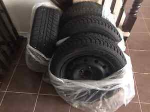 205 55R16 winter tires and rims