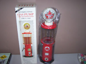 Antique Style SUPERTEST GAS PUMP LIQUID DISPENSER - NEW