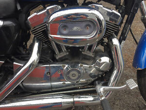 2007 Harley Davidson 1200C Sportster with Screaming Eagle Motor