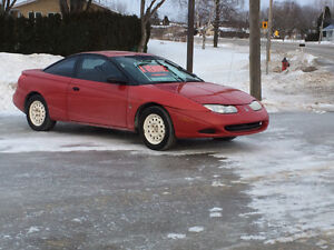 2001 Saturn S-Series Coupé (2 portes)