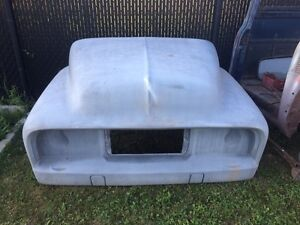 F-100 one piece flip nose front end 53-56