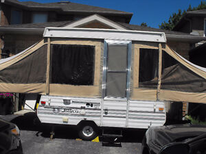 Jayco Pop Up Tent Trailer - 8 foot box
