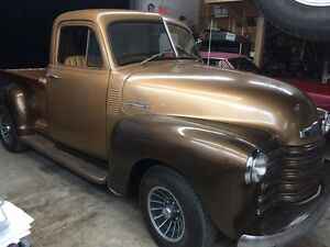 1952 Chevy pick up trade for 69 CAMARO project
