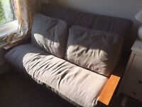 Solid Oak Two-Seater Futon by Futon Company