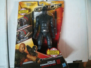 2011 Hasbro GI Joe RetaliationNinja Commando Snake Eyes$20