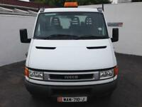 2004 IVECO DAILY FLATBED TRUCK - BIG ENGINE - PX WELCOME