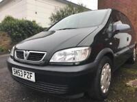 Vauxhall Zafira 1.8i Petrol automatic transmission 2003 -- LOW MILES -- LONG MOT
