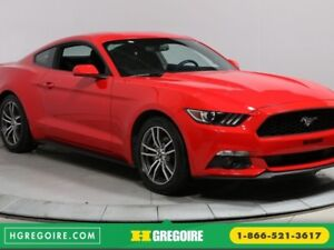 2017 Ford Mustang EcoBoost A/C GR ELECT MAGS BLUETOOTH