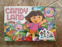 Brand New in Package Dora in Candyland game