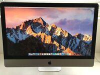 "iMac 27"" 2011 3.4GHz CPU, 16GB RAM, 1TB HD"