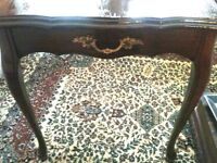 Antique table and other Items