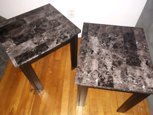 End Tables - sold ppu