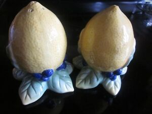 RARE-ROYAL DOULTON-Handpainted CARMINA Salt and Pepper Shakers