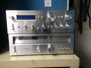 pioneer amplifier and tuner