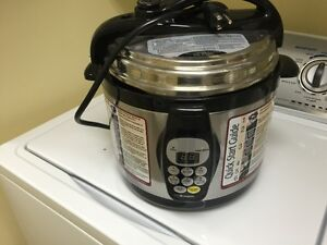 PRESURE  COOKER AS SEEN ON TV NEW  COND  MOVING  REDUCED