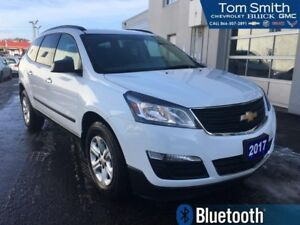2017 Chevrolet Traverse LS  7 PASSENGER! 3 ROWS OF SEATING! BLUE