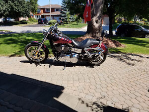 Harley Davidson Dyna FXDL Mint Condition