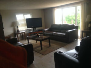 3 bedroom furnished country home