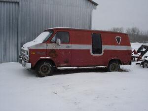 1978 GMC Rally Van Minivan, Van