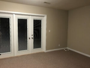 Large one bedroom basement apt for rent (Cloverdale)