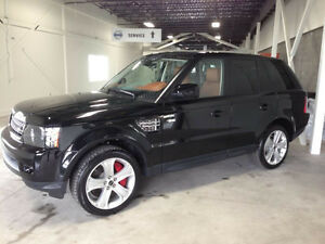 2013 Land Rover Range Rover Sport Supercharged Noir/Tan