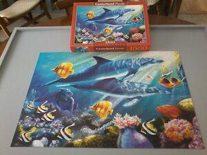Casse-tête Castorland puzzle 1500 mrcx