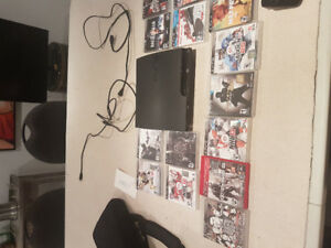 Ps3 with 1 remote and 15 games
