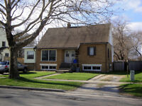 2 Bedroom, lower floor of house, avail. May 1st, excellent area