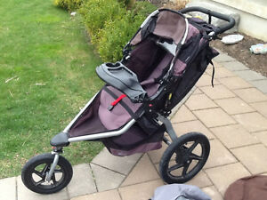 BOB STROLLER WITH EXTRAS