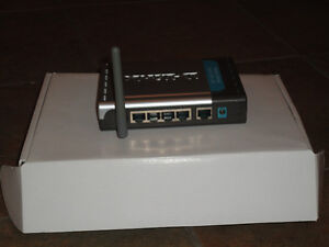 Used D-Link DI-524 Wireless 54 Mbps High Speed Router (802.11g) Edmonton Edmonton Area image 7