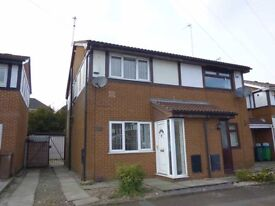 2 Bed semidetached in quiet cul-de-sac. Priced for quick sale, offers above £105,000