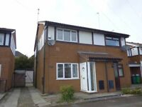 2 Bed semidetached in quiet cul-de-sac. offers above £108,000