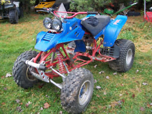 Yamaha Warrior rolling chassis $350 firm,Located in Noelville