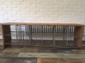 Vintage School PE Locker Bench